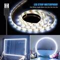 5V LED Make-Up Spiegel Licht LED Schönheit Lampen USB Hollywood Eitelkeit Lampe 1M-5M Wasserdichte Flexible dekoration Dressing Tisch Lampe
