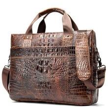 Men Shoulder Bags 100% Genuine Leather Messenger Bags Fashio