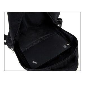 Image 2 - Мужской Дорожный рюкзак для ноутбука, черная водонепроницаемая сумка на плечо, школьный ранец для деловых поездок, 2020