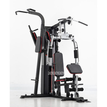Multifunctional Two-Person Fitness Equipment With Dumbbell Bench Butterfly Arm Chest Push Training Combination Fitness Equipment тренажер многофункциональный royal fitness bench 1520