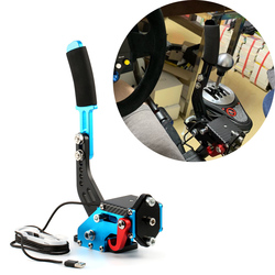 Für Logitech G29/G27 Rally Sim Racing Spiele drift Sensor Usb Handbremse System pc14 bit Halle Sensor SIM Für t300 T500 G25 ps4