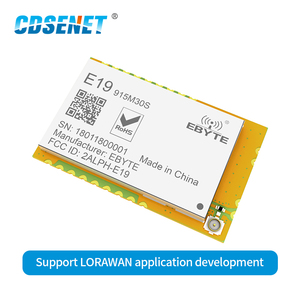 Image 2 - SX1276 LoRa 915 МГц SMD модуль передачи данных 30dBm CDSENET E19 915M30S LNA большой диапазон 915 МГц