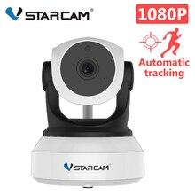 VStarcam C24S 1080P HD di Sicurezza Macchina Fotografica del IP di Wifi Della Macchina Fotografica Umani Auto Tracking IR Visione Notturna Video di Rete di Sicurezza del CCTV macchina fotografica