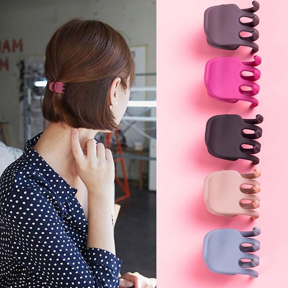 1Pcs Simple Style Hair Crab Claw Women Fashion Temperament Scrub Hair Pins And Clips DIY Hair Styling Tools Hair Accessories