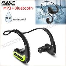 XGODY Wireless Earphones IPX8 S1200 Waterproof Swimming Headphone Sports Earbuds