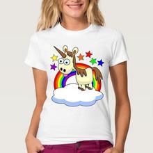 for Girl Vest Underwear Horse Women T shirt Summer Cotton Shirt Unicorn Funny Cartoon Sleeveless T-Shirts