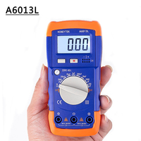 A6013L Kondensator mF uF Schaltung Gauge Kapazität Meter Tester Ersetzen Die Gleiche Wie XC6013L Kapazität Multimeter|Multimeter|Werkzeug -