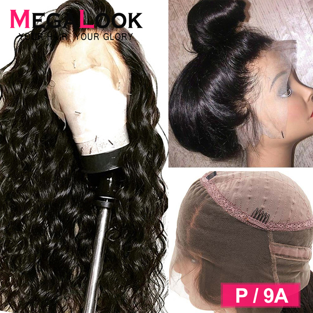 360 Lace Frontal Wig Human Hair Brazilian Wig For Black Women Remy 180% Pre Plucked With Baby Hair Loose Wave Wig Human Hair