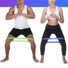 K-STAR спортивной тренировки йоги эластичных лент на крытый и открытый вытяжное кольцо Пилатес Фитнес оборудование эластичное кольцо 5 цветов