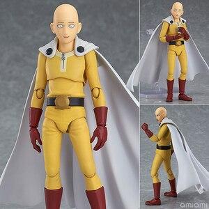 Image 1 - Saitama figura de acción de One Punch Man Saitama Figma 310, juguete de modelos coleccionables, regalo de cumpleaños, 14cm, PVC