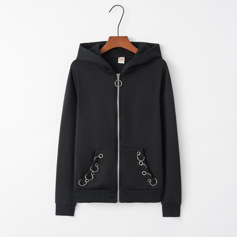 Rings Gothic 2020 New Design Hot Sale Hoodies Sweatshirts Women Casual Kawaii Harajuku Sweat Girls European Tops Korean