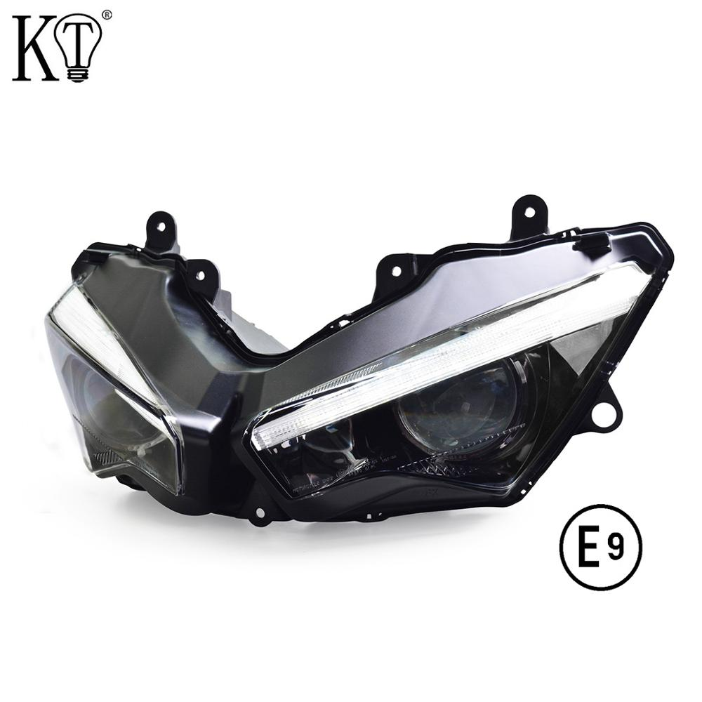 For Kawasaki Ninja ZX6R Full LED Headlight 2019+ E-MARK Approved