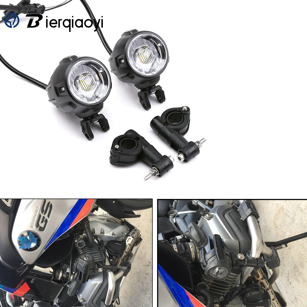 GS 1200 Motorcycle Accessories for BMW R1200GS F800 LED Headlights Auxiliary Fog Lamp Spotlights Fog Light Waterproof LED Lamp|  - title=
