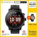 Amazfit Stratos montre intelligente APP Ver 2 femmes hommes GPS PPG moniteur de fréquence cardiaque 5ATM étanche à bord de la musique Sport Smartwatch