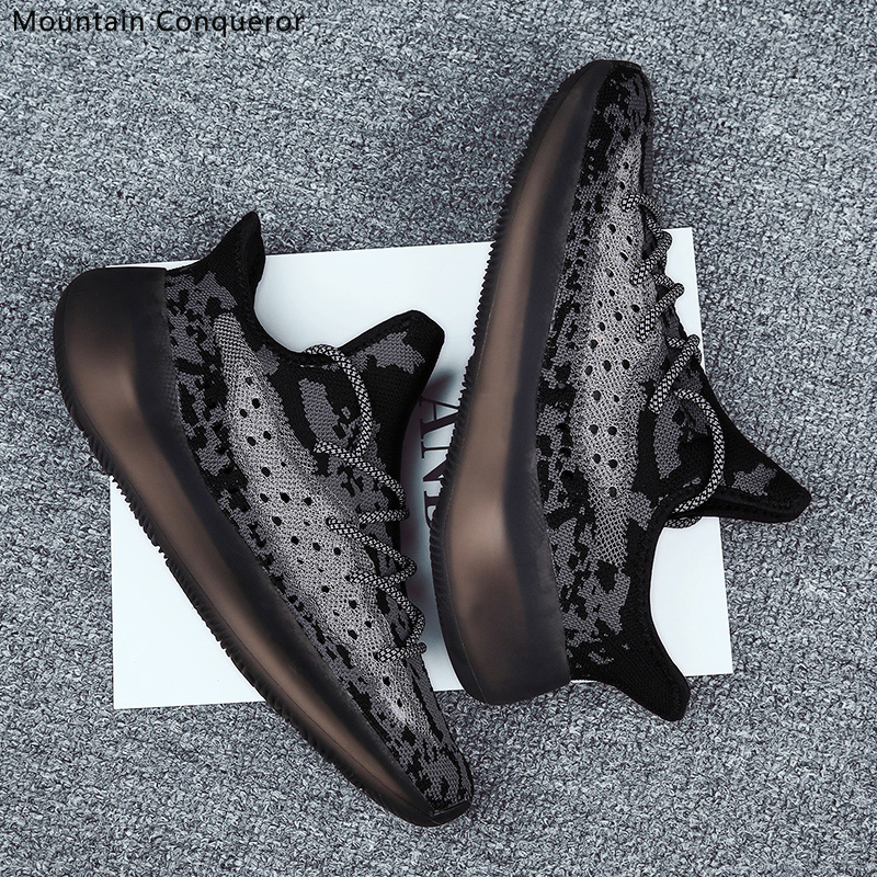 Mountain Conqueror Men Shoes Brand Casual 350 Sneakers Breathable High Quality TPU Running Footwear Trainer Sneakers 39-45
