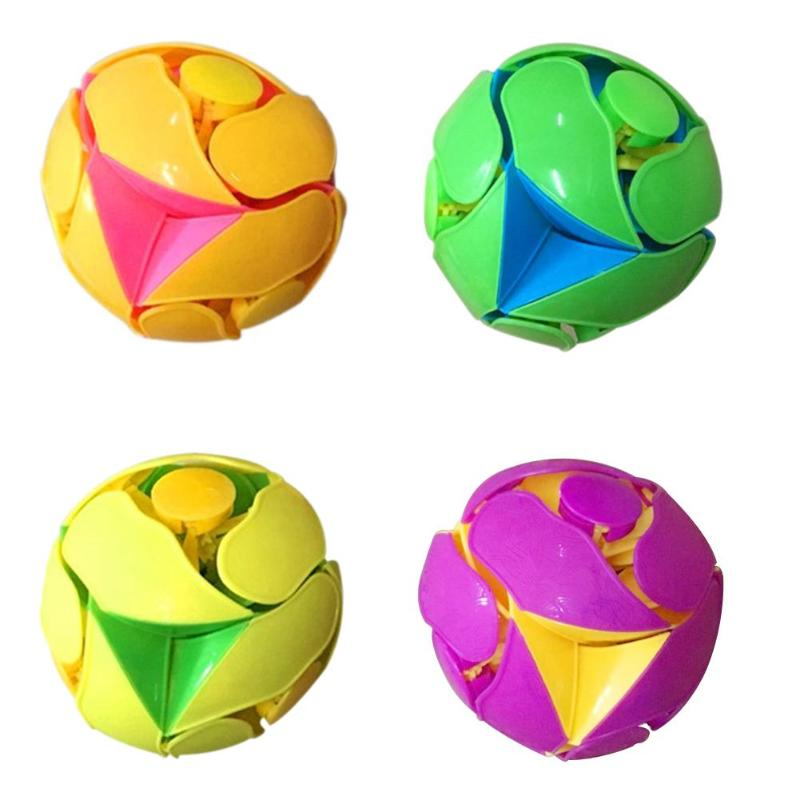 8CM Round Ball Puzzle Deformation Disassemble Creative 3D Puzzle Jigsaw Spiritual Education Toys For Children Random Color