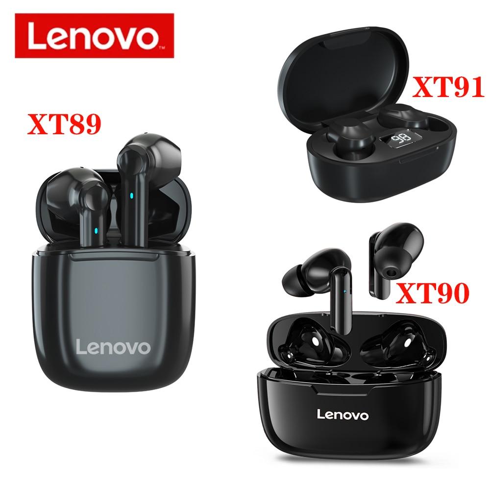 Lenovo XT89 XT90 XT91TWS Bluetooth Earphone HIFI Sound quality Wireless Headphone HD audio decoding Headset Stereo bass With Mic