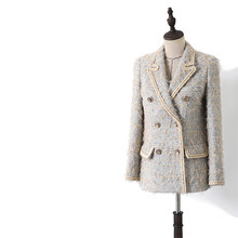 Handmade Luxury Blazer Suits for Women Vintage Tailored Coll