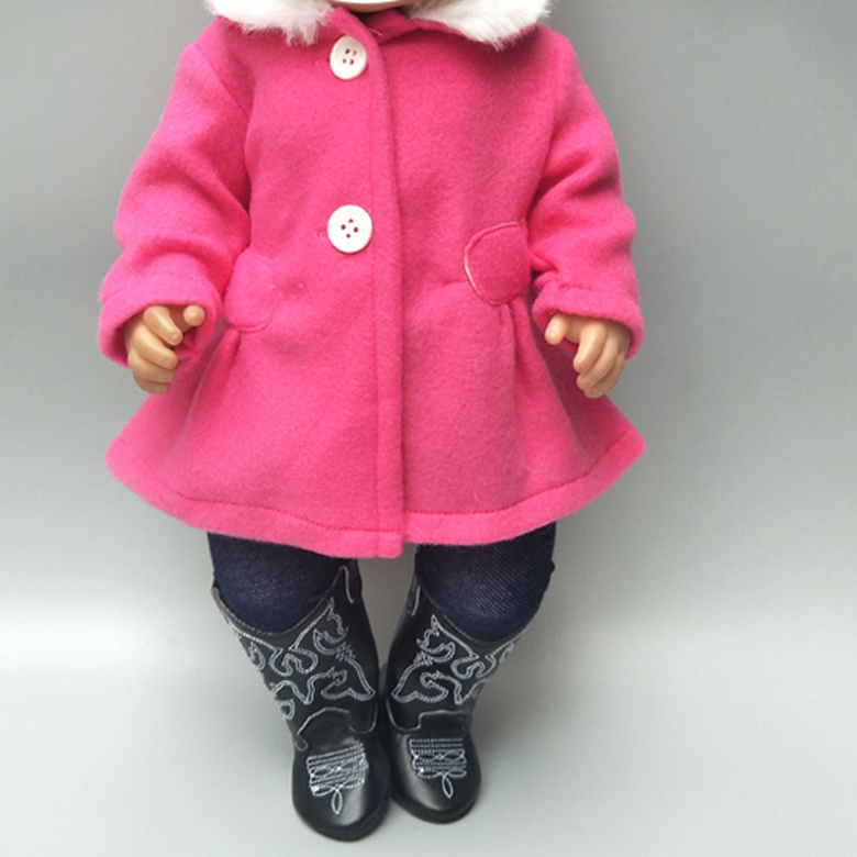 18 Inch Girl Doll Clothes Set For Baby Doll New Born Doll Pants Clothes 18