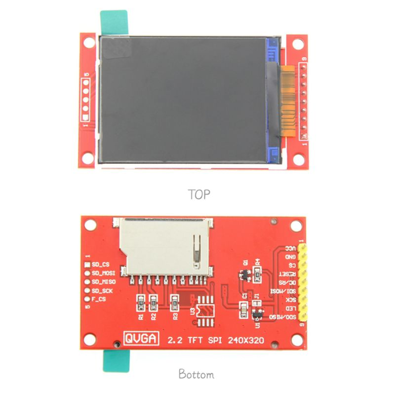 2.2 Inch 240*320 Dots SPI TFT LCD Serial Port Module Display ILI9341 5V / 3.3V 2.2'' 240x320 For Diy  Whosale & Dropship