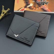 Wallet Men's Short Leather Cross Wallet Multi Card Holder Japan and South Korea New Soft Wallet Business Casual Men's Wallet