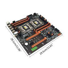 2021 New X99 Dual Server Computer Motherboard LGA2011-3 CPU DDR4 Memory Game Mainboard