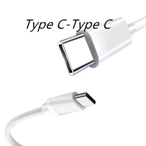 0.25/1/2M USB Type C To Type C Fast Charging Cable for Samsung S10 20 W2019 W20 Galaxy A70 Xiaomi 8 9 10 Huawei P20 P30 P40 Pro
