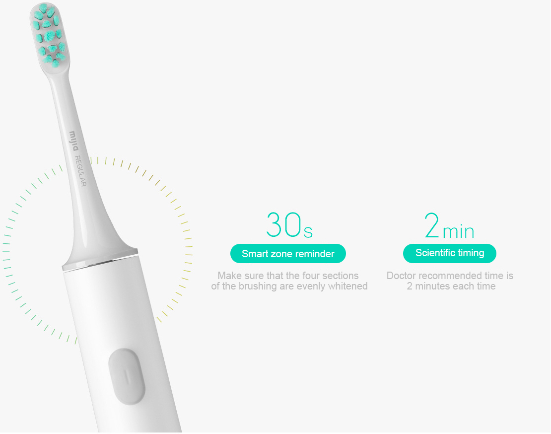 Xiaomi Mijia Smart Sonic Tooth Mi Electric brush 9