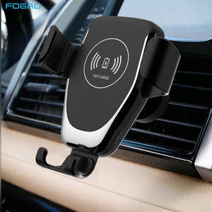 FDGAO Wireless-Charger Stand Car-Mount Car-Phone-Holder Fast-Charging iPhone 11 S10 For Samsung