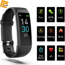 CHDX Bluetooth Multi-Languages Smart Wristbands Heart Rate Monitor Smartband Fitness Traker Waterproof IP68 Watches