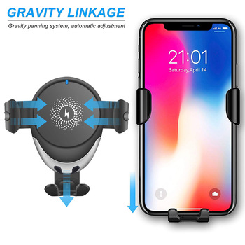 15W 10W Auto Gravity Car Mount Wireless Charger Cellphones & Telecommunications