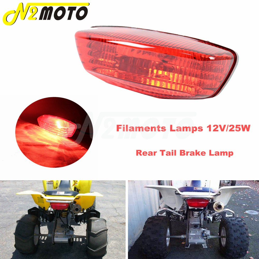 Suzuki Quad Sport QuadRunner 250 400 Rear Tail Light Lamp 35710-03G30 New OEM