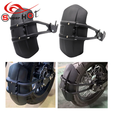 For Kawasaki Z125 ER6N ER4N ER6F ER6 er6n er6f Motorcycle Accessories Rear Fender Mudguard Mudflap Guard Cover
