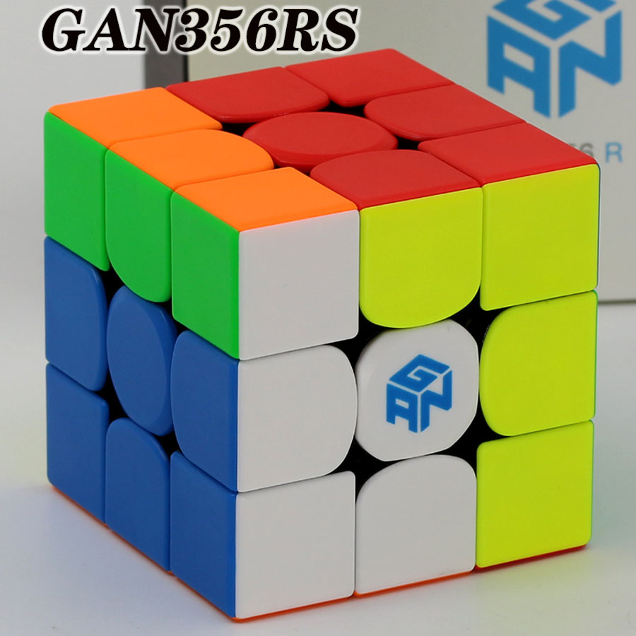 GANs 356  GAN356RS Magic cube puzzle Classical Gan RS 3x3x3  3x3 professional speed puzzle educational toys for kids game cubeMagic Cubes   -