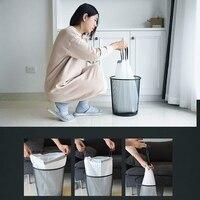 90Pcs Tragbare Trash Taschen Weiß Kordelzug Müll Liners 5 2 Gallonen Genug für eine Familie zu Verwenden für 3 4 monate 18 1 zoll X 19 7 ich-in Müllbeutel aus Heim und Garten bei
