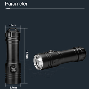 Image 2 - أقوى المهنية الغوص مصباح ليد جيب 100 متر مصباح تحت الماء الغوص الشعلة قابلة للشحن Xm L2 مصباح يدوي 26650 18650