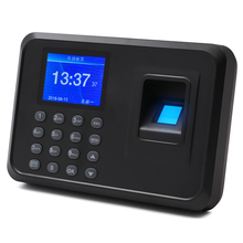 Attendance-Machine Employee Checking-In-Recorder Fingerprint Biometric Tft-Lcd-Screen