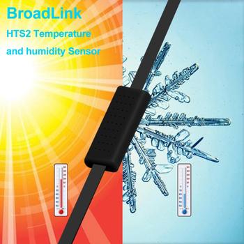 Akcesoria do czujników temperatury i wilgotności Broadlink HTS2 współpracują z RM4 PRO RM4 Mini inteligentny moduł zdalnego sterowania automatyki domowej tanie i dobre opinie Gotowa do działania Broadlink HTS2 sensor accessory Zgodna ze wszystkimi 5V 1 0A Max Black Must work with RM4 PRO or RM4 Mini