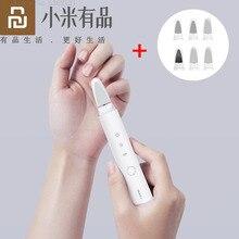 Nowy Youpin Showsee obcinacz do paznokci elektryczny zestaw obcinaków do paznokci dla dziecka dorosłych Manicure Pedicure Scissor zawód obcinacz do paznokci narzędzie