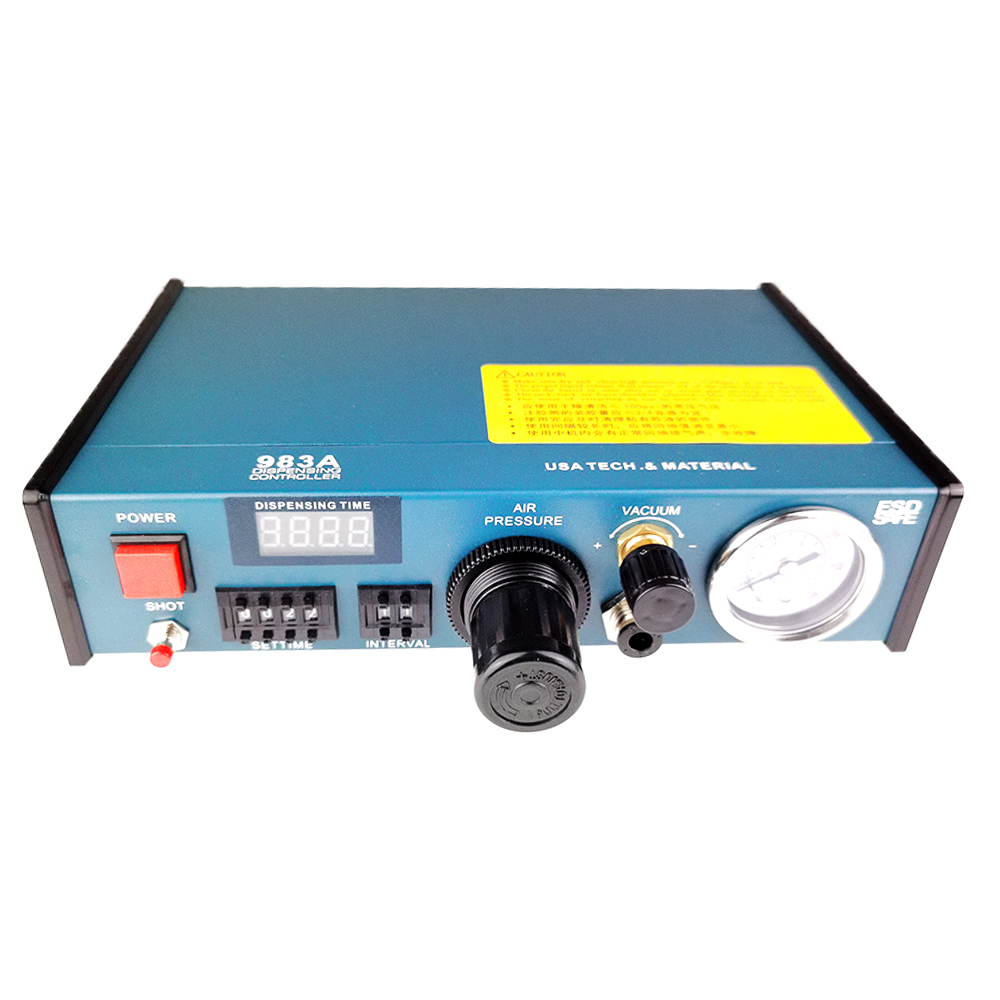 Digital Precise Display Auto Dropper 983A Solder Fluid Dispenser YDL Controller Professional Glue 983A Liquid Paste