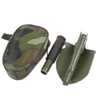 Ferramentas de jardim Mini Portátil Militar Folding Pá Survival Pá Espátula Para Acampamento Ao Ar Livre Ferramenta de Emergência|Pás| |  -