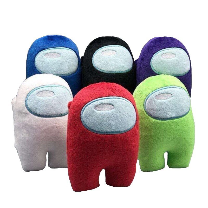 10cm oyun arasında yumuşak peluş bebek müzik sesi ile Kawaii doldurulmuş oyuncak karikatür arasında küçük peluş noel hediyesi çocuklar için