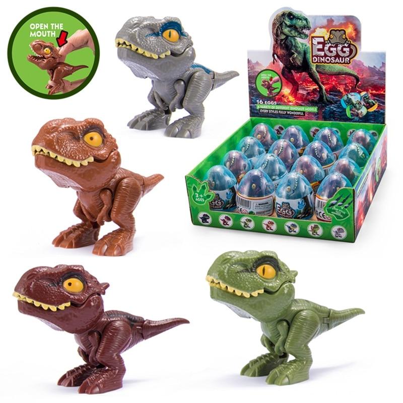 1pc Finger Dinosaur Egg Toy Creative Tricky Tyrannosaurus Model Dinosaur Toy Children's Gifts