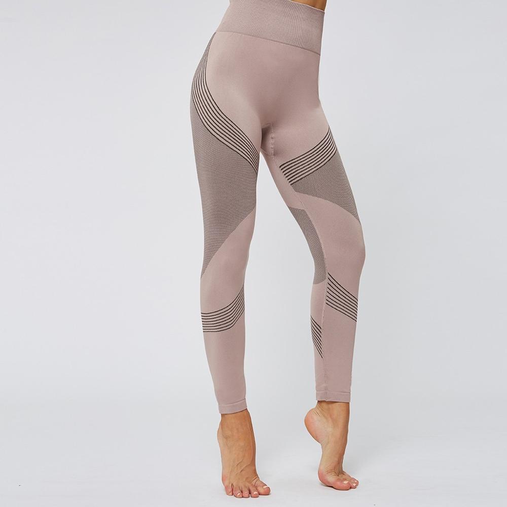 Printing Seamless Leggings For Fitness Women High Waist Stretch Hip Lift Leggings Women Push Up Elastic Print Pants #20