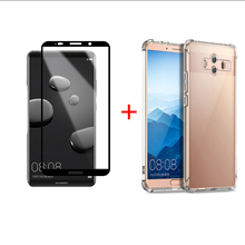 Transparent Phone Case For Huawei Mate 10 Pro Screen Protection Lite Soft Protective Glass