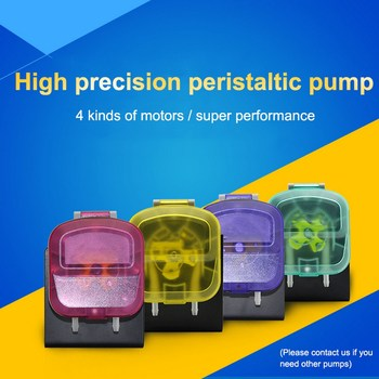 Mini Peristaltic Pump with 12V DC Motor Small Electric Water Pump Micro Doing Pump with High Prissure KDS 900 Ml/min