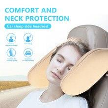 Yeni varış ABS boyun yastık araba uyku Artifac boyun servikal U şeklinde yastık araba ev ofis için