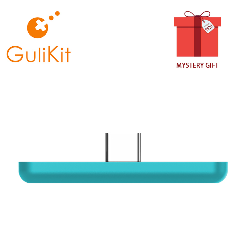 GuliKit NS07 Route Air Color Bluetooth Wireless Audio Adapter or Type-C Transmitter for Nintendo Switch,Switch Lite,PS4,PC(China)