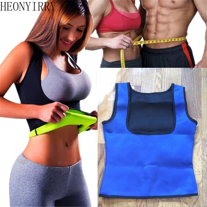 Women Neoprene Sweat Sauna Body Shapers Vest Waist Trainer Slimming Weight Loss Waist Cincher Anti Cellulite Burning Fat