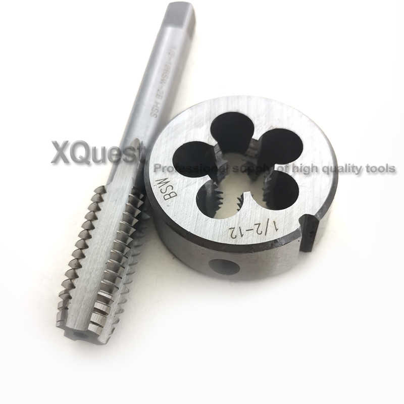 8-32 UNC HSS Right Hand Tap and Die Set